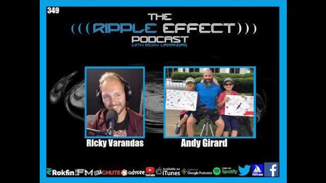 The Ripple Effect Podcast #349 (Andy Girard   From Addiction To Drugs, To Addiction To Truth)